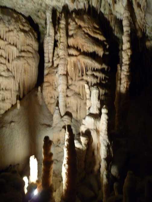 Day 7 - Stalactites inside Postojnska Jama Cave