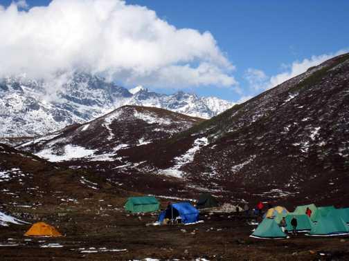Camp at Dzongri