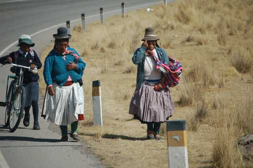 Along the road to Puno