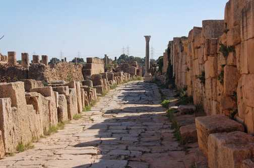Roman city life