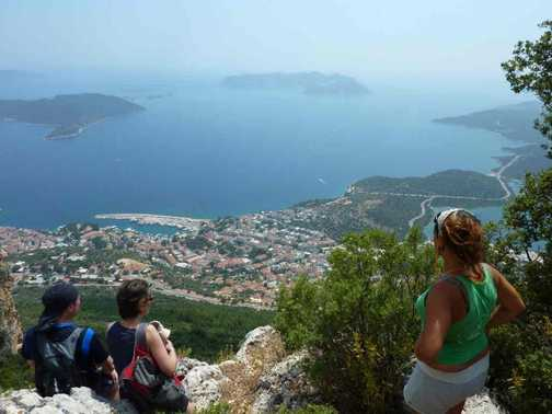 View of Kas