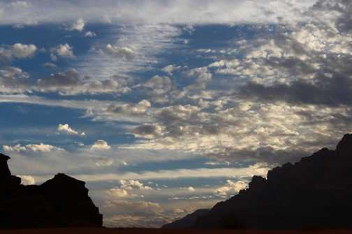 Wadi Rum Skies