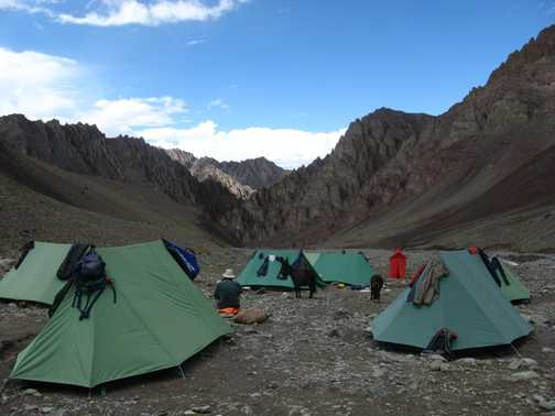 The camp at Mankarmo