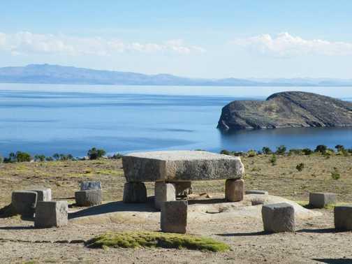 Sun Island - Sacred stone