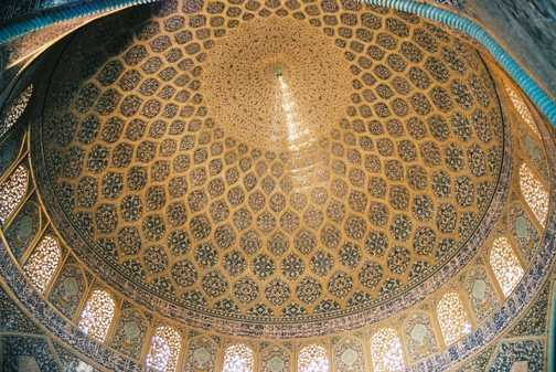 Interior of the Friday mosque, Isfahan