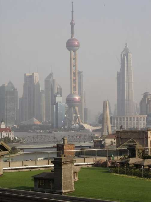 View from Shanghai Hotel