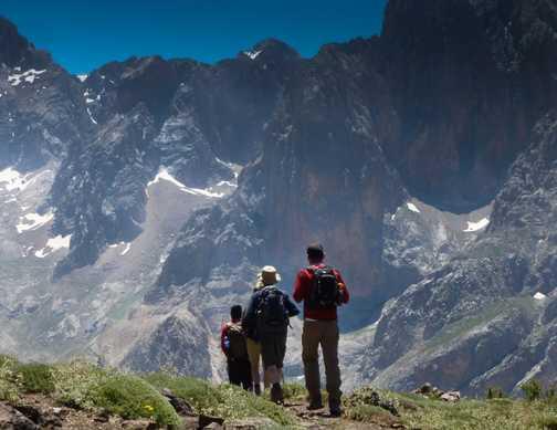 Stunning mountain scenery