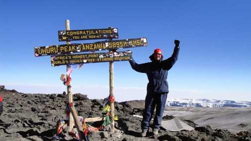 Uhuru Peak 5895 m