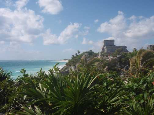 Mayan Site @ Tulum at yucatan, Mexico