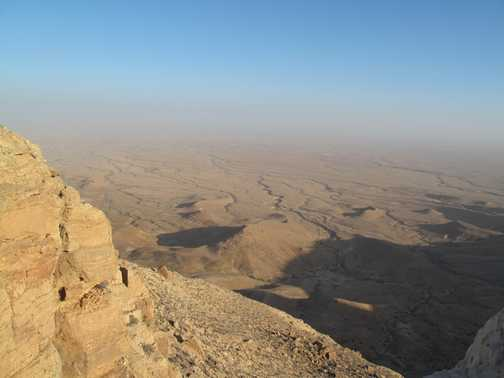 Views across the desert