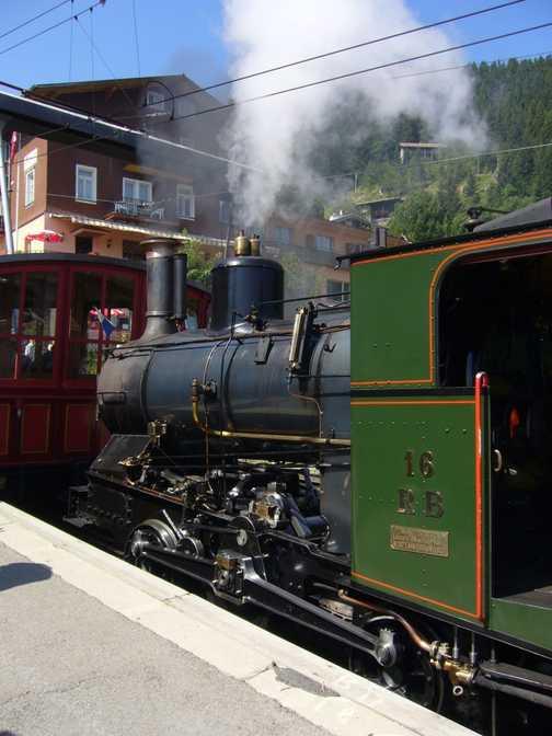 Steam at D'Abreschvielle