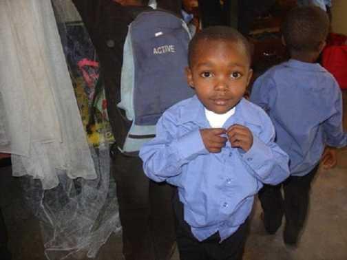 """""""I can do it myself!"""" - Peace Matonda Orphanage. Tanzania"""