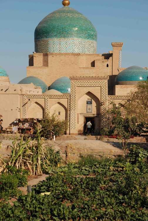 Khiva, Mausoleum of Pakhlavan Makhmud