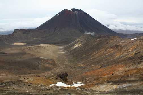 Mount Doom. Tongariro crossing