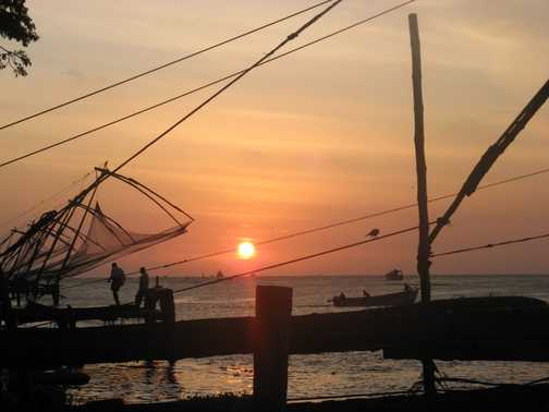 Cochin - Chinese fishing nets