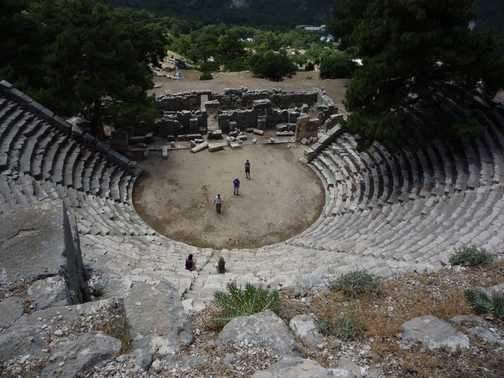 Colliseum at Arycanda