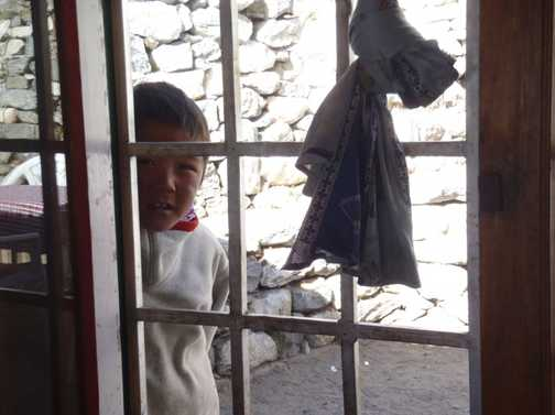 A Child at Shomare