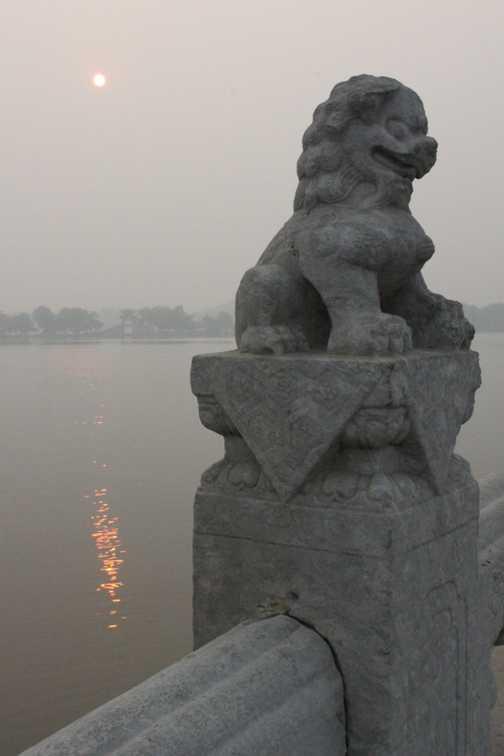 Incense at the Great Goose Pagoda, Xian