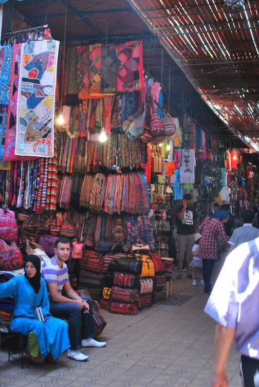 The souqs of Marrakech