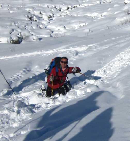 Some deeper snow