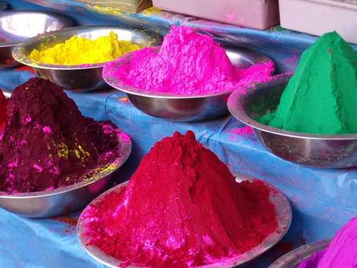 market in Mysore