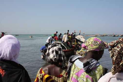 Fish market at M'bour