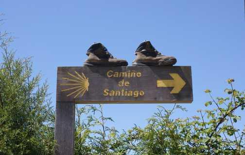 Camino waymarker 2