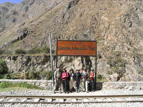 Start of Inca Trail