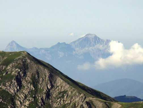 Pania della Croce, from Appenines