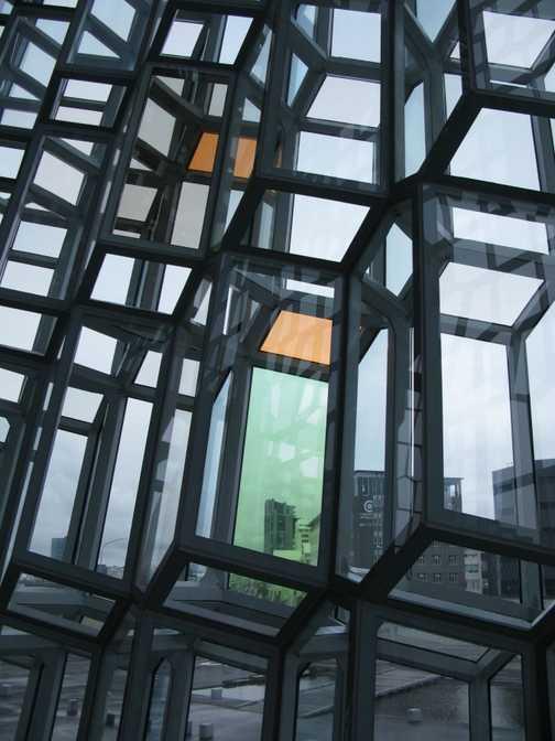 Windows in the city centre, Reykyavik