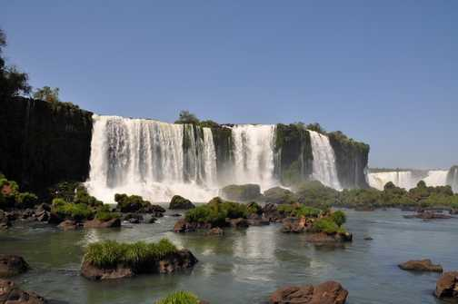 Waterfall at Iguassu