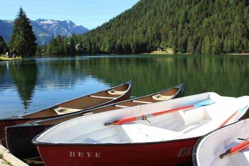 Lake at Le Champex