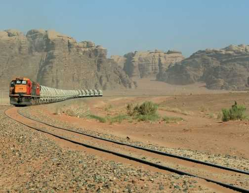 Desert train, Wadi Rum