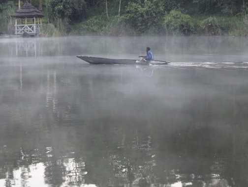 Local Fisherman on Bunyonyi.