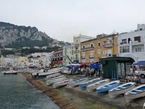 Port at Capri