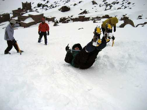 .............This Ice Axe Arrest Business!
