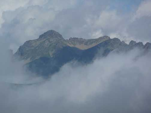 Mountain in the mist