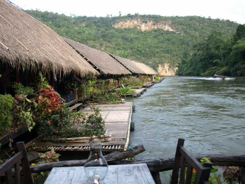 Jungle raft house