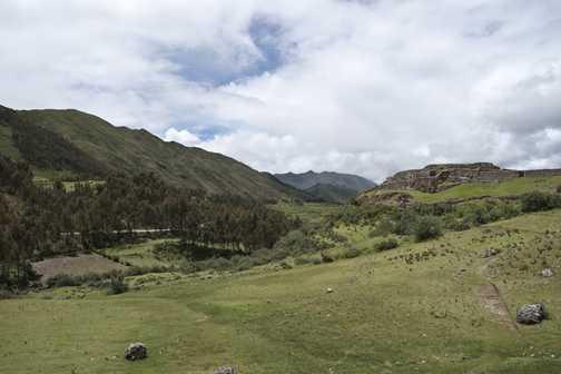 Landscape near Cusco
