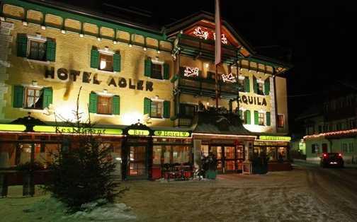 The hotel Adler