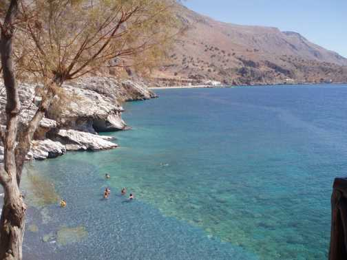 another beach where we swam!