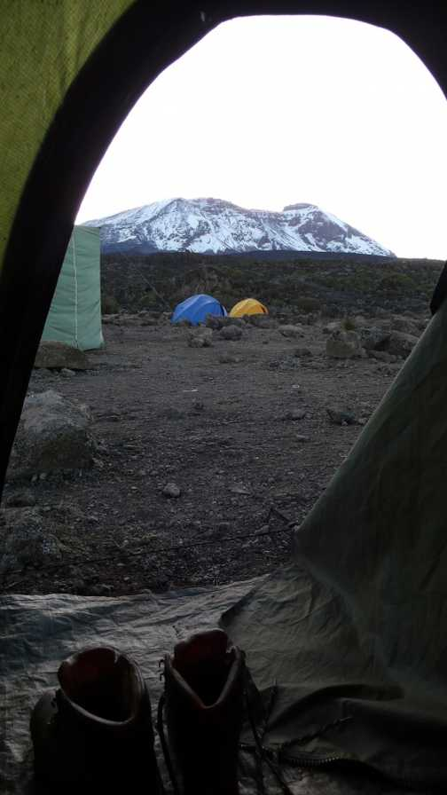 shira hut from tent