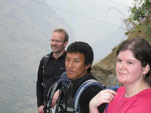 29/3 our leader Ngima, Rachel & Chris