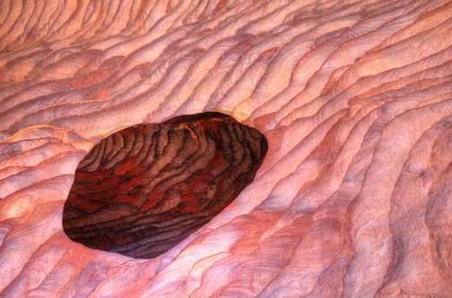Sandstone colours, Petra