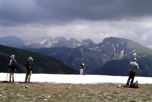 Maliovitsa from Razpena pass