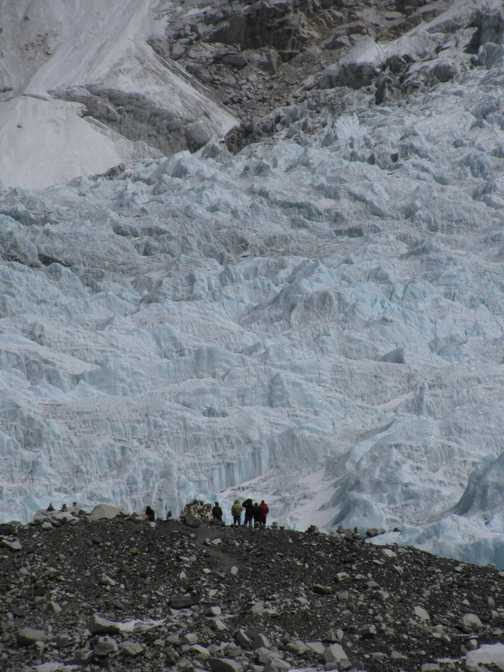 View from Kala Pattar hillside