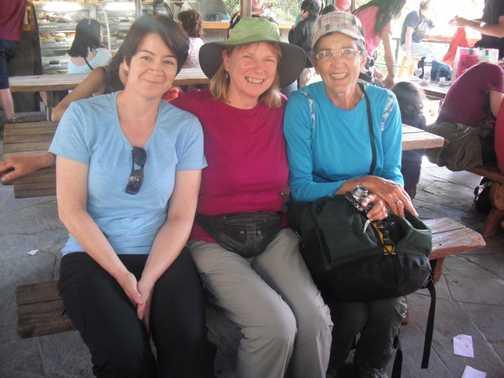 Ladies at San Pedros Market, Cuzco