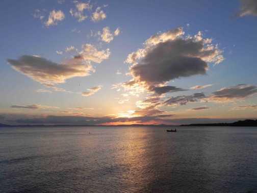 Sunset from Ometepe Island