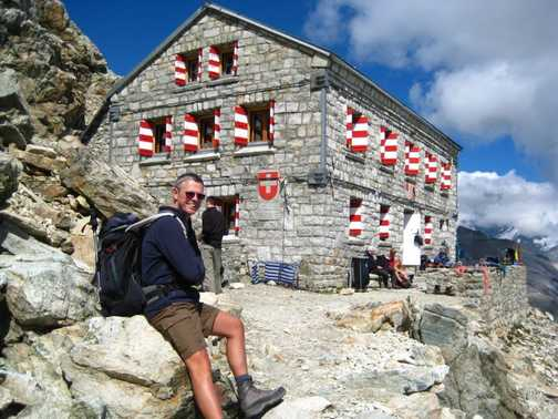 The Rothorn hut.