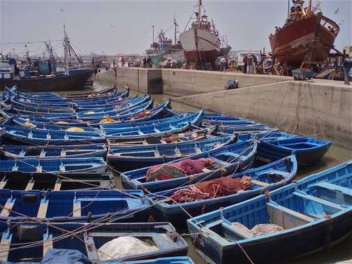 Harbour, Essaouira